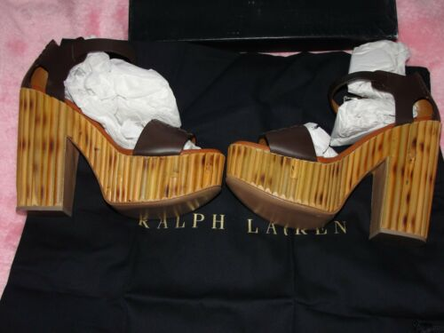 plateforme Prix Lauren 500 Sandales de bambou Taille à Alira gbp à en 500 plus supérieur kg Ralph qI7ETvwdRw