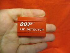 GILBERT JAMES BOND 007 SPY TRICKS PART OUT:  LIE DETECTOR COVER