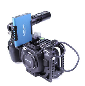 Lanparte Bmpcc 4k Full Cage Blackmagic Pocket Cinema Camera Dslr Rig Top Handle 840534102326 Ebay