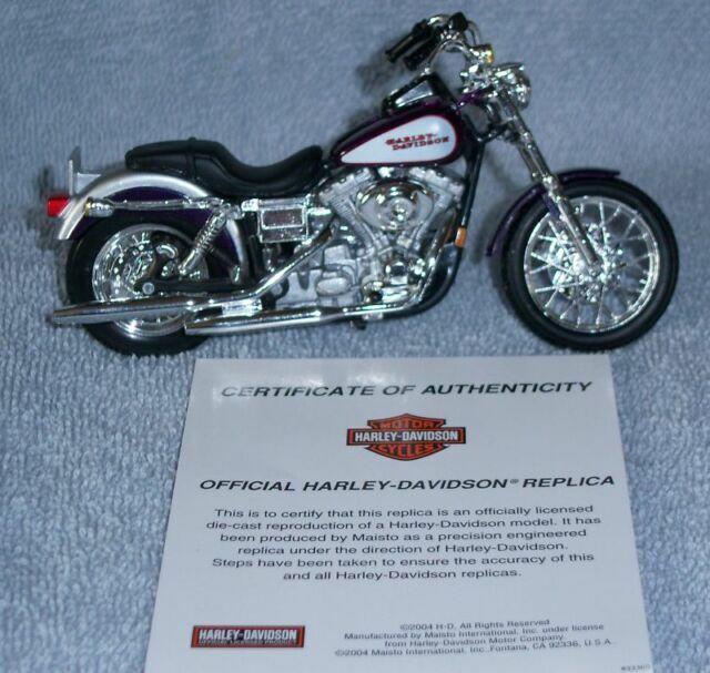 maisto 1:18 Harley Davidson 2001 fxdl Dyna Low Rider