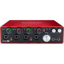 Focusrite Scarlett 18i8 USB 2.0 Audio Interface (2nd Generation) Brand New!