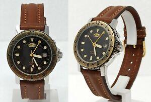 Orologio-camel-trophy-alarm-watch-vintage-clock-men-039-s-37-mm-montre-reloj-horloge