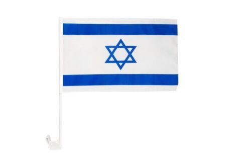 Israel Autofahne Autoflagge Fahnen Auto Flaggen 30x40cm