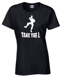 comprar oficial tienda Detalles de Take The L Inspirado Camiseta Moderna Baile Camiseta Mujer