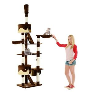 94-034-102-034-Huge-Cat-Tree-Ceiling-High-Cat-Condo-Scratching-Post-Activity-Center