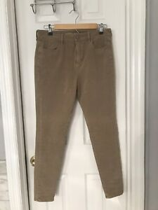 American-Eagle-Super-Stretch-High-Rise-Jeggings-Pants-Size-10-Brown-Tan