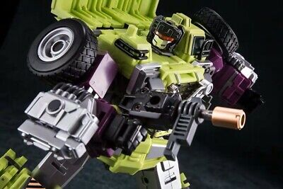 Transformers Combiner Devastator GT Size Daban Brand Mixer Truck
