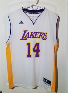 876ad0feb6d Brandon Ingram  14 Los Angeles Lakers adidas Swingman Men s Jersey ...