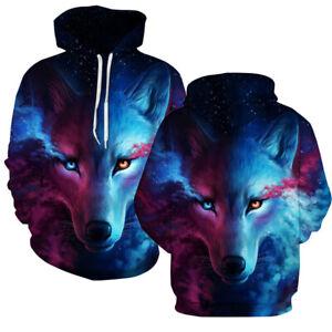 Unisex Galaxy Space 3D Graphic Print Hoodies Sweatshirt Jacket Coat Jumper Tops