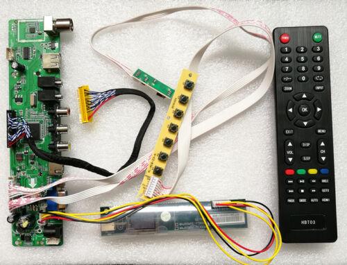 K2 LCD Controller Driver Board TV+HDMI+VGA+CVBS+USB A3 T.VST56 For LP150E06