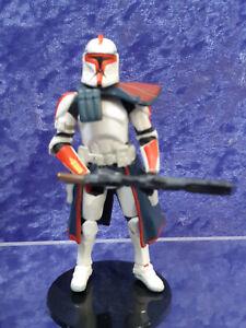 Star Wars 2006 Battle Pack Hunt for Grievous Blue Squad ARC Trooper Loose
