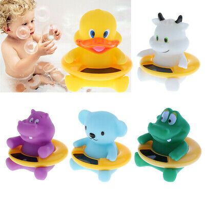 Baby Bath Tub Water Temperature Tester Toy Animal Shape Cartoon Thermometer