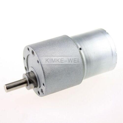24V DC 150RPM High Torque Gear Box Electric Motor New