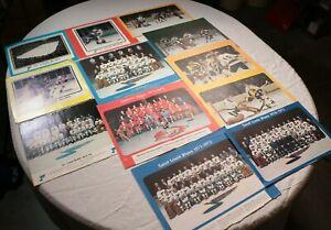 Vintage-70s-St-Louis-Blues-Calendar-Pages-Denver-Spurs-Garry-Unger-NHL-Hockey