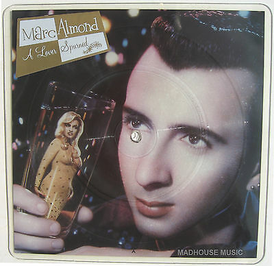 "SOFT CELL 12"" Marc Almond A Lover Spurned SHAPED PICTURE DISC Unplayed w/ Stkr"