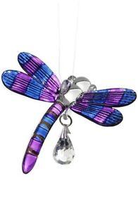 Fantasy-Glass-Dragonfly-Suncatcher-With-A-Swarovski-Crystal-Purple