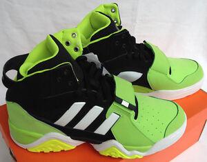 0eccbce8603a Adidas Streetball 1.5 G99872 High-Top Black Green Basketball Shoes ...