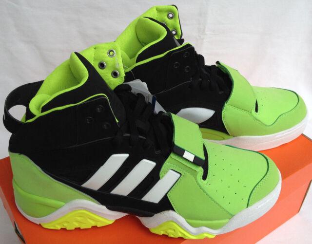 9 New Streetball Adidas 5 Basketball Shoes Men's Top 5 1 Black Green High G99872 LqUVGSpjMz
