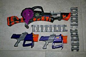 Image is loading Nerf-Max-Force-Razorbeast-Machine-Dart-Gun-Belt-