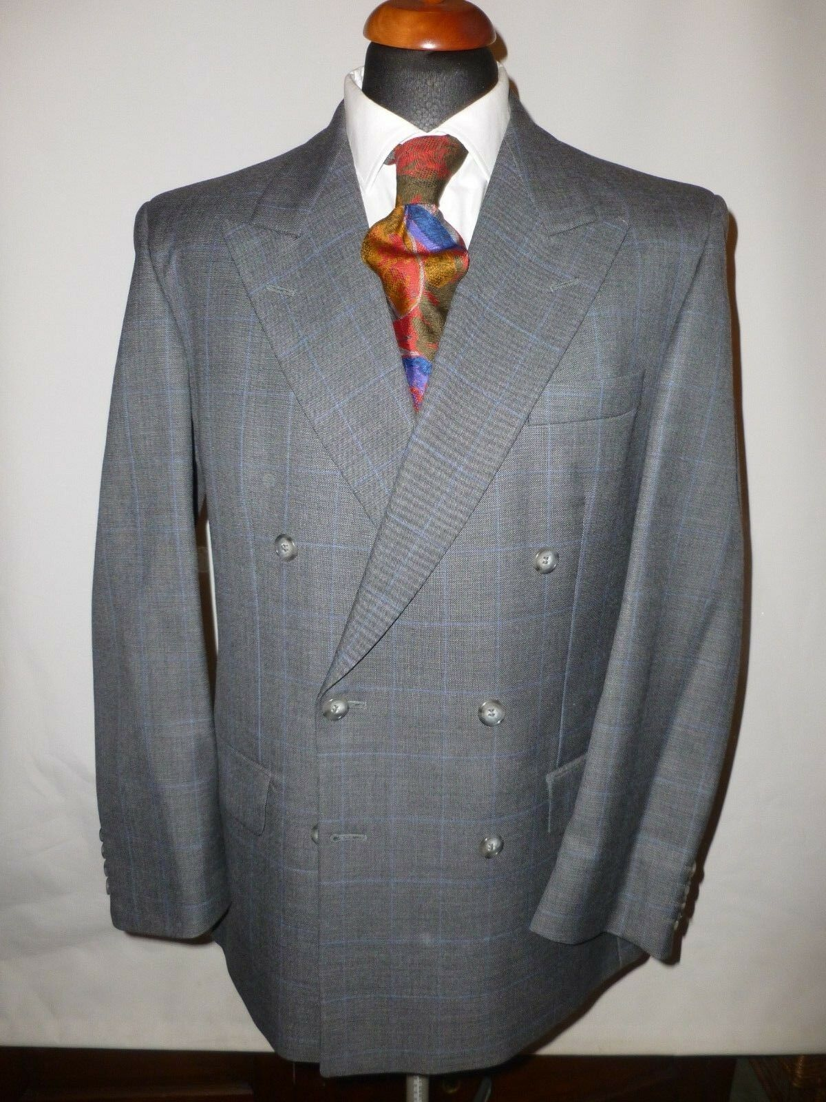 d5e867ed9 MAGEE PURE WOOL SUIT R WAIST 31 LEG MADE ENGLAND NEW 33 IN ...