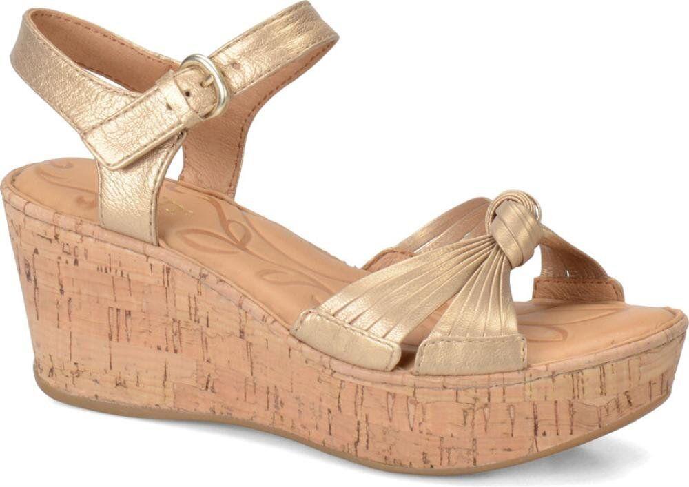 Born Women's Skye Ankle-High Leather Sandal Light Brown 10 B(M) US