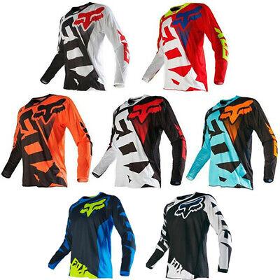 Fox Racing Jersey T-Shirt Men/'s Motocross//MX//ATV//BMX//MTB Cycling Bike Tops 2020