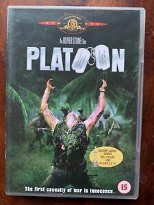 Platoon DVD 1986 Oliver Stone Classic Vietnam War Movie w/ Charlie Sheen