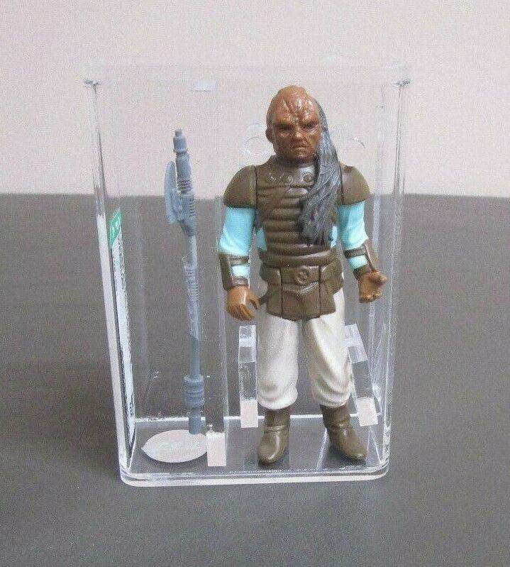 Weequay 1983 Star Wars classés figurine Autorité 80 Presque comme neuf Hong Kong COO JJ