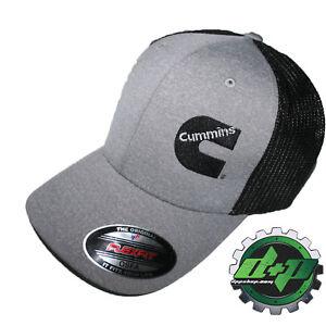 e46d6219f92e3 Cummins hat ball cap fitted flex fit flexfit stretch cummings dodge diesel  OSFA