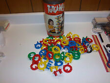 Vintage set of Ringa-Majigs toys from the 1950's. In original can VERY RARE!!