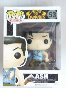 FUNKO-POP-VINYL-ARMY-of-DARKNESS-EVIL-DEAD-ASH-53-with-FREE-PROTECTOR