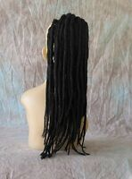 Ponytail Extensions Dreadlock Drawstring Hairpiece 15 Inches U Choose Color Lt35
