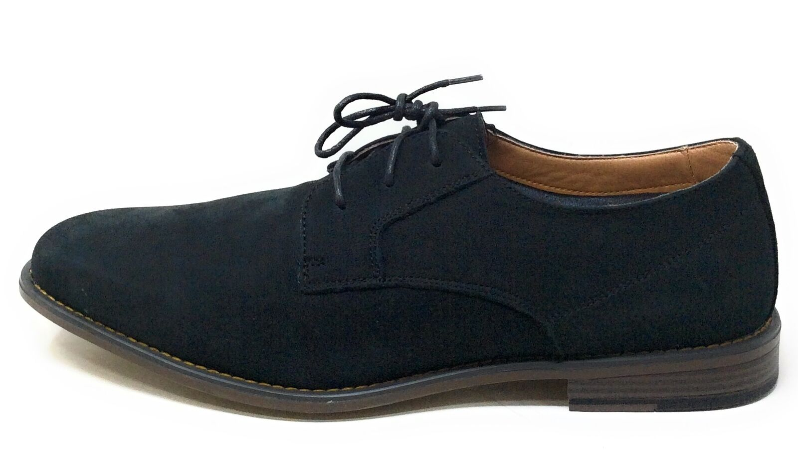 J75 By Jump Mens Griffin Lace Up Oxford Shoes Black Leather Size 13 M US