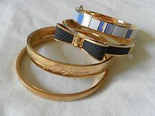 Kate Spade Love Notes Large Bow Gold Bangle Bracelet O0ru1018