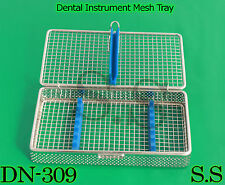 Dental Instrument Sterilization Cassette for 7pcs Stainless Mesh Tray DN-309