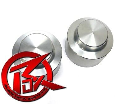 """85-16 CHEVY GMC 3/"""" Inch Silver Front Coil Spring Spacer Lift Leveling Kit 2wd"""