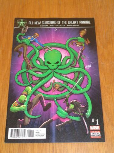 GUARDIANS OF THE GALAXY ALL NEW ANNUAL #1 MARVEL COMICS AUGUST 2017