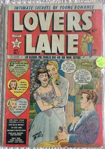 Golden-Age-Romance-LOVER-039-S-LANE-1-VG-3-5