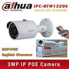 Dahua 3MP POE IPC-HFW1320S HD IP67 IR Mini Bullet IP Camera Replace IPC-HFW4300S
