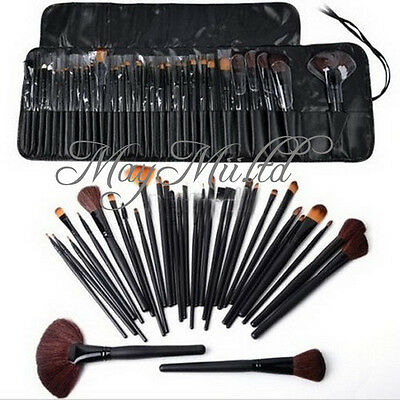 Unique Easy To Use 32pcs Professional Cosmetic Makeup Brush Set Kit With W