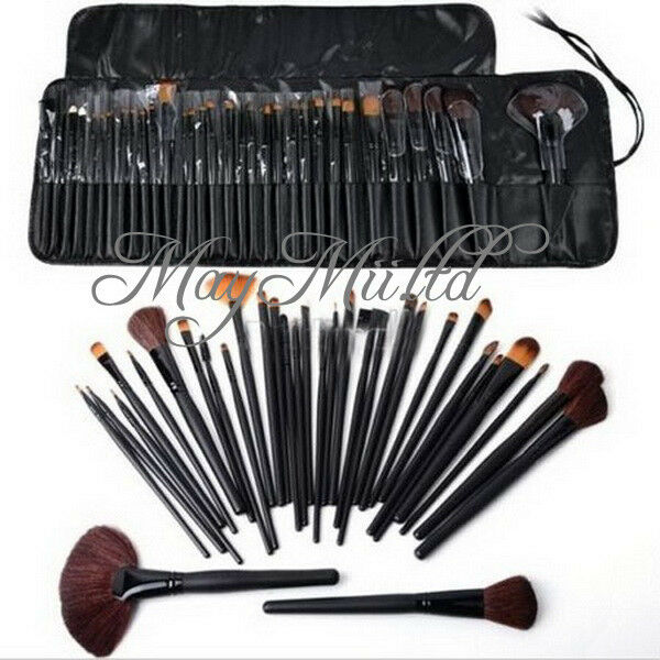 Unique Easy To Use 32pcs Professional Cosmetic Makeup Brush Set Kit With N