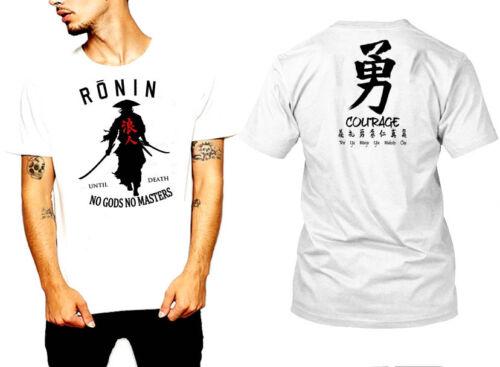 Samurai T-Shirt Japanese Shogun Assassins Bushido Anime Ronin Musashi Katana tee