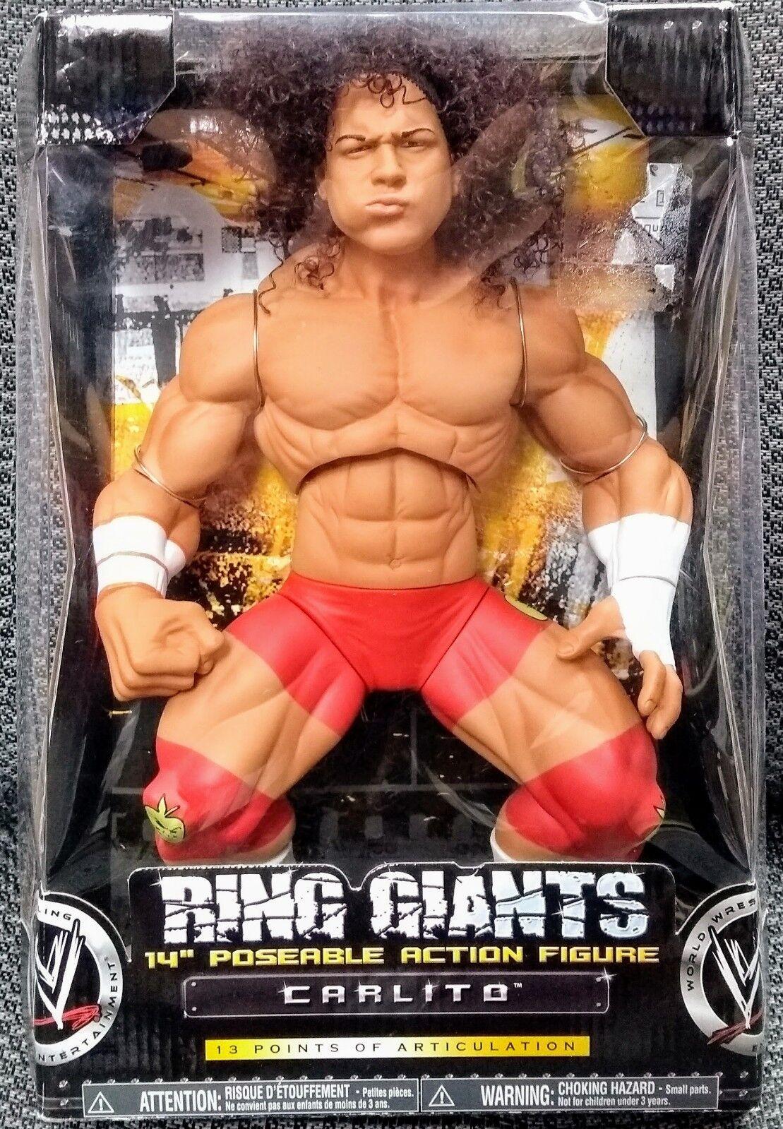 CARLITO WWE Jakks Pacific 14  RING GIANTS Series 9 IN BOX