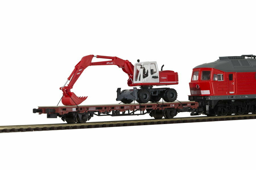 Kibri h0 26258 Finished Model niederbordw. M. Atlas 1604  radsacger nouveau OVP  40% de réduction
