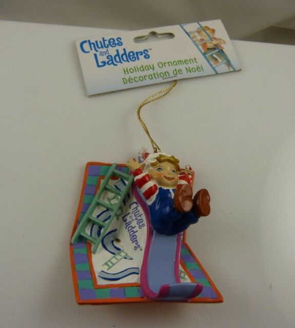 Chutes and Ladders retro holiday Christmas ornament Kurt S. Adler xmas