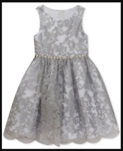 Silver Dresses for Little Girls