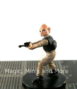 Masters Of The Force Sullustan Scout 37 Star Wars Miniature Wotc