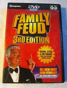 Family Feud 3rd Edition Family Party Game DVD 2007 Hosted by John O