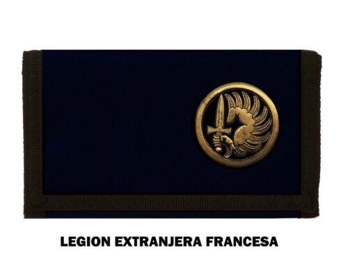 LA LEGION EXTRANJERA FRANCESA MONEDEROS Y BILLETEROS