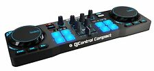 Hercules DJControl Compact super-mobile USB Controller with 8 Trigger Pads and 2